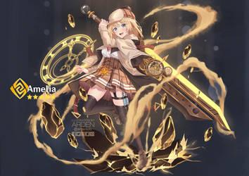 Watson Amelia x Genshin Impact