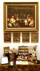 Exhibition of paintings by Ojako