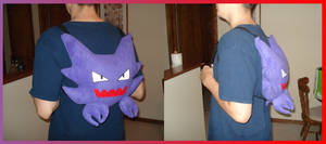 Haunter Backpack by Allyson-x