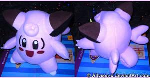 Clefairy Plush by Allyson-x