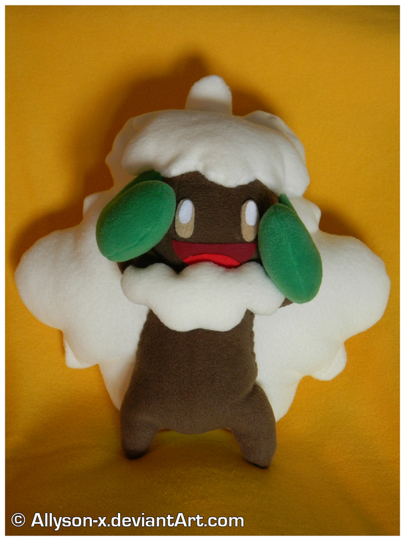 Whimsicott Plush by Allyson-x