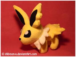 Jolteon Mini-Minky Plush by Allyson-x