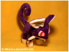 Rattata Mini-Minky Plush by Allyson-x