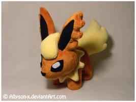 Flareon Mini-Minky Plush by Allyson-x