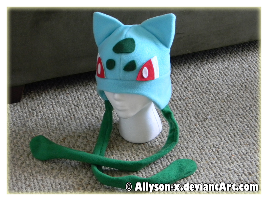 Bulbasaur Hat V2 by Allyson-x