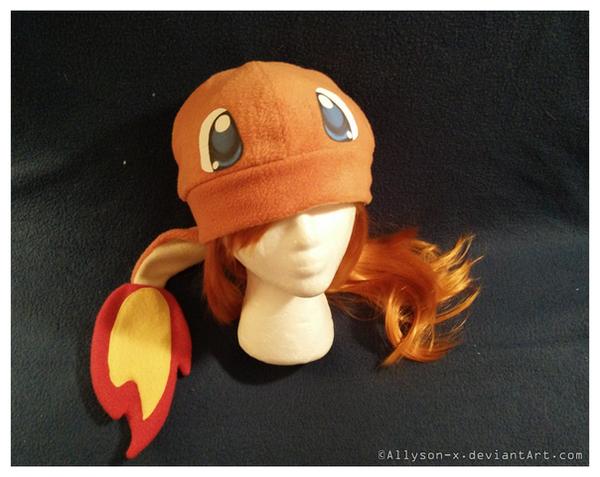 Charmander Hat v3.0 by Allyson-x