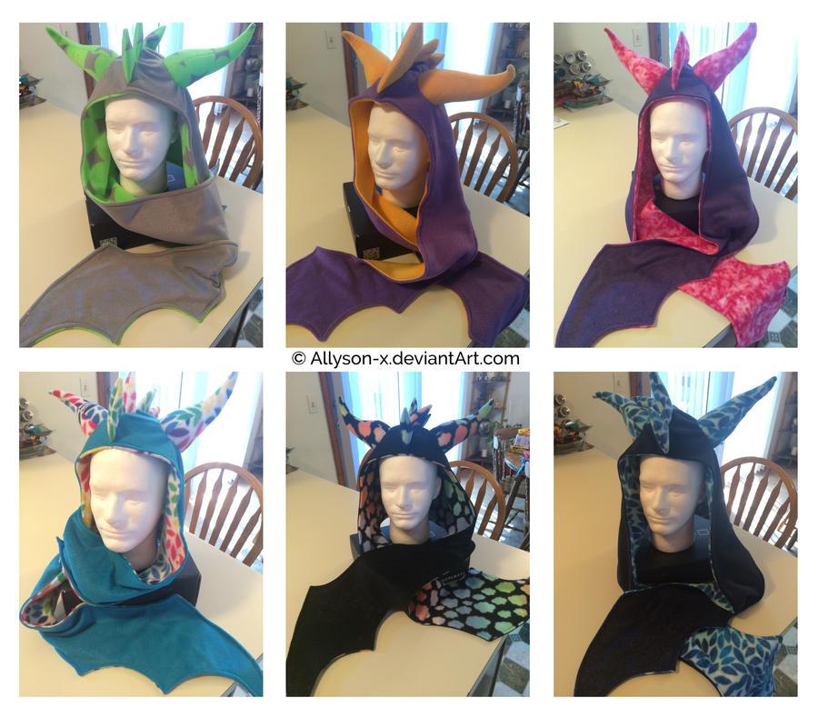 Dragon Scoodies by Allyson-x
