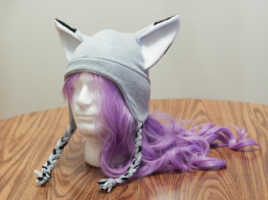 Grey Fox Hat Braided by Allyson-x