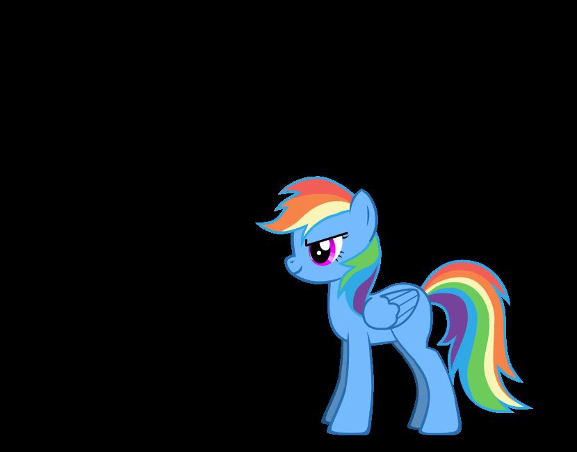 Rainbow Dash in pony creator by Shayaaaa on deviantART