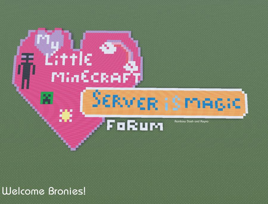Serwer MLP w Minecrafcie 8D