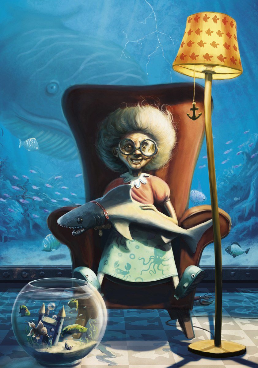 Gill the Queen of Fishes art