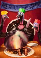 Turkey Dinner by SpikedMcGrath