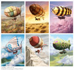 Some Airships of Oberon