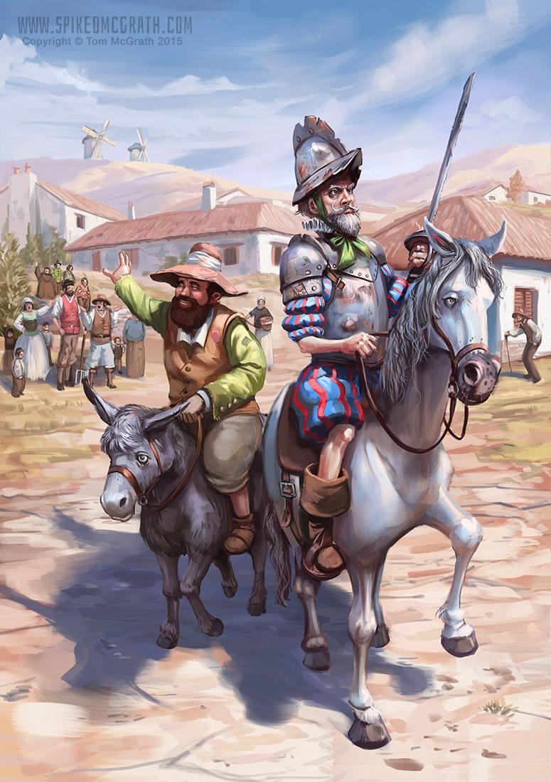 Leaving La Mancha by SpikedMcGrath