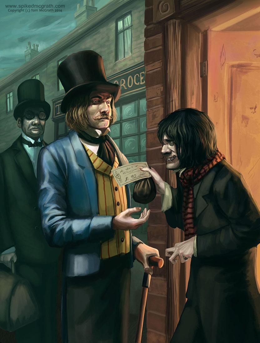 Mr Hyde pays up by SpikedMcGrath