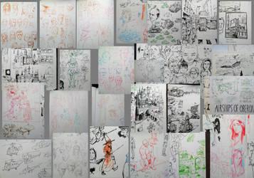 Sketchdump 01 Pt3 by SpikedMcGrath
