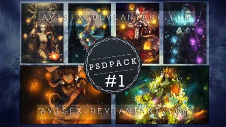 PSD PACK #1 by AvisFx
