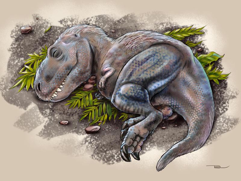 Baby rex by r-dario