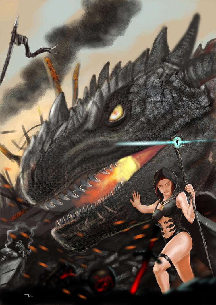 Dragon Revisited by r-dario