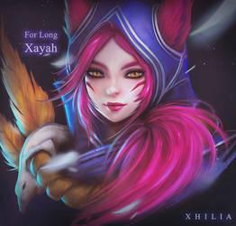 Xayah - Commission