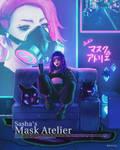 Sasha's Mask Atelier by XhiliaJP