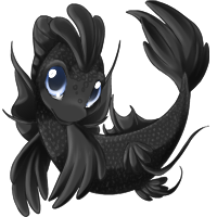 Black koi version one by glowy-colors-lova-8D