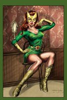 Marvel Girl Color by ShawnVanBriesen