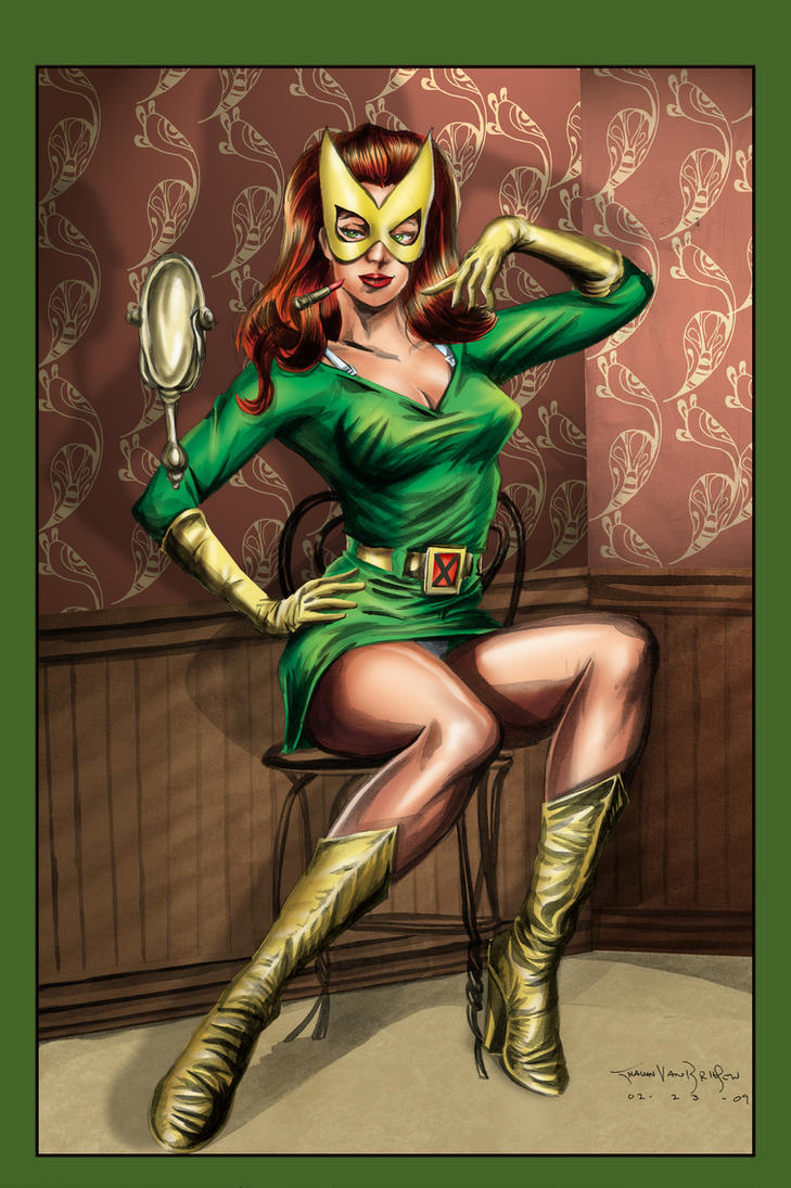 Marvel Girl Color by ShawnVanBriesen
