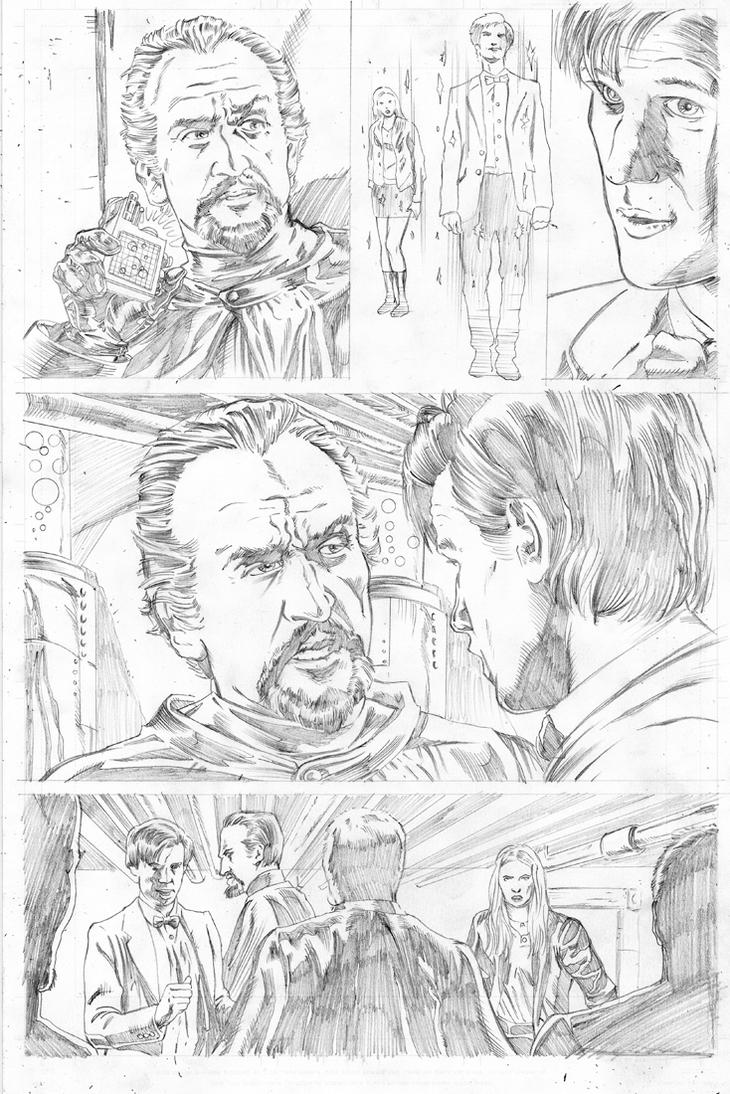 Doctor Who Page 3 by ShawnVanBriesen