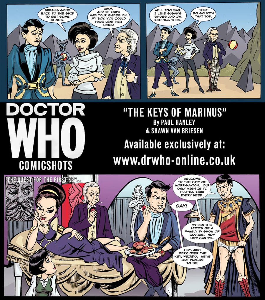 Doctor Who The Keys of Marinus by ShawnVanBriesen