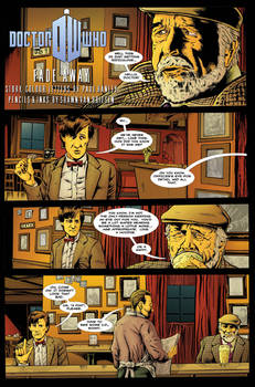 Doctor Who: Fade Away Page 1