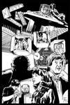 The Mind Robber line art