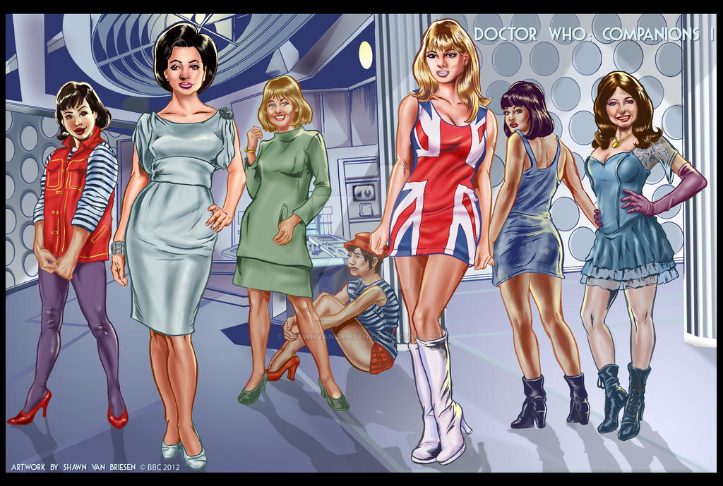 Doctor Who Companions I by ShawnVanBriesen