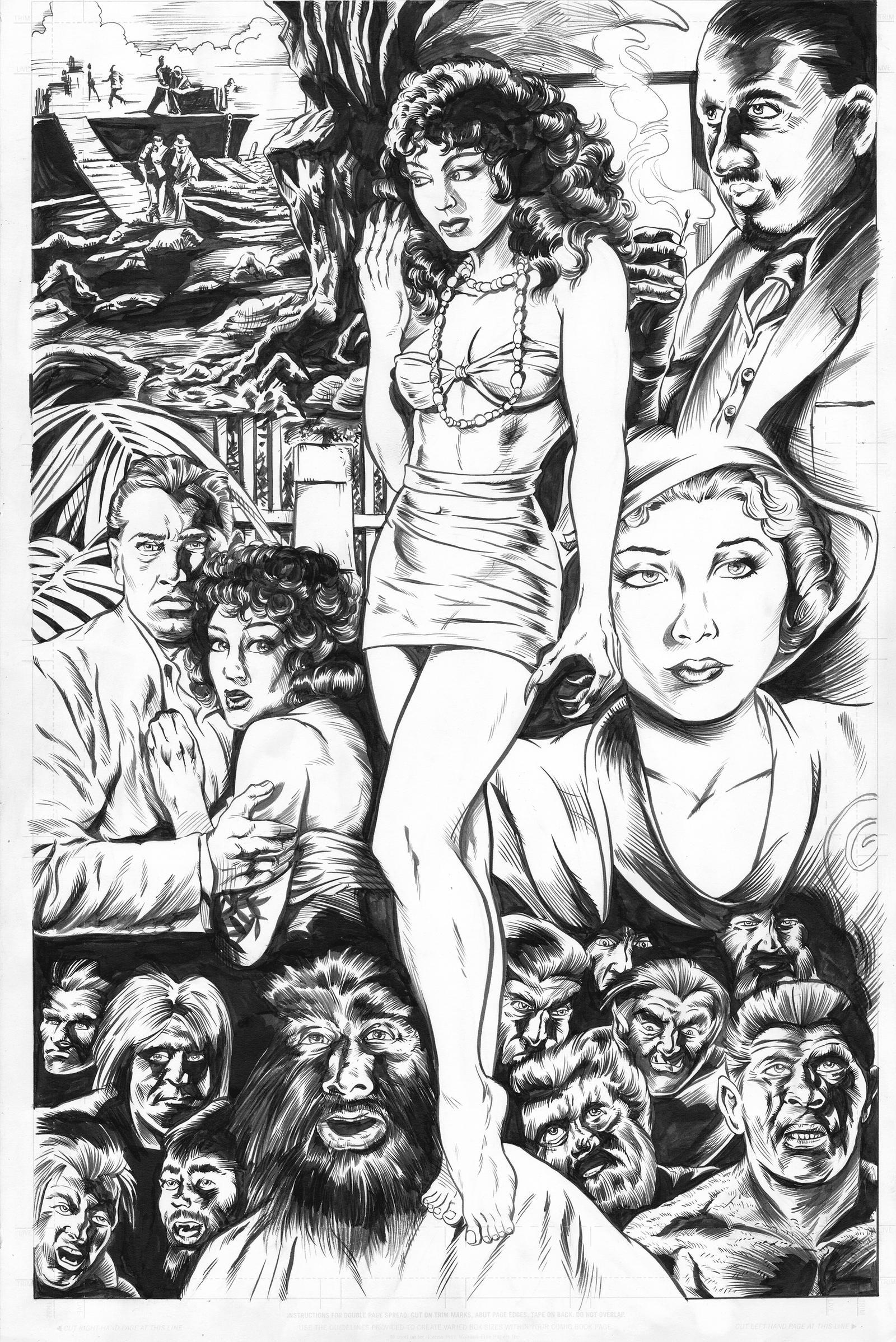 Island of Lost Souls Commission by ShawnVanBriesen