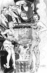 Fu Manchu Suicide Squad commission by ShawnVanBriesen