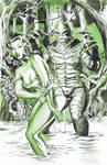 Creature From the Black Lagoon Commission