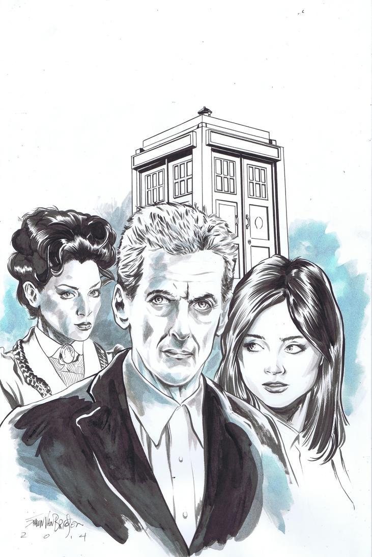 Doctor Who 12 by ShawnVanBriesen