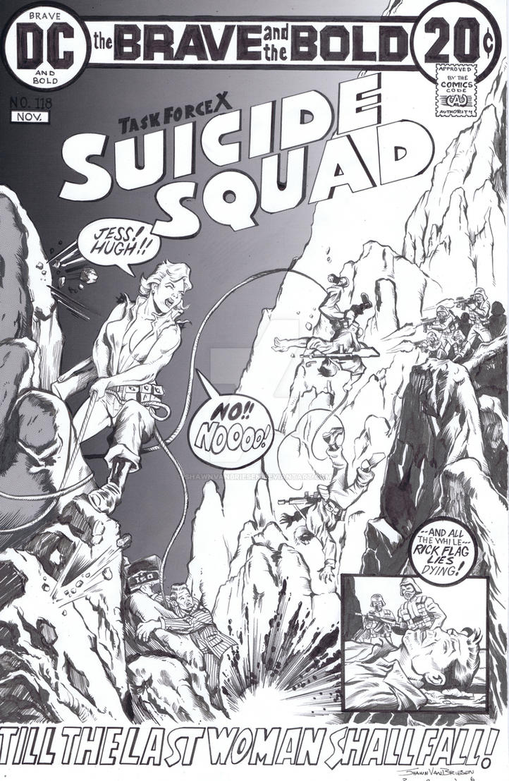 Suicide Squad #118 Reimagined commission by ShawnVanBriesen