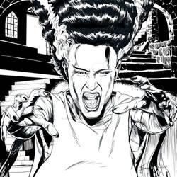 Bride of Frankenstein Inks 1935