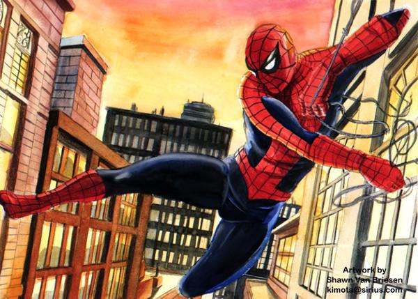 Spider-man by ShawnVanBriesen