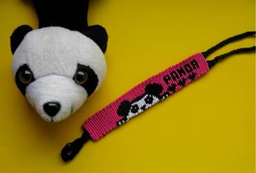 Panda Bracelet by Mukika