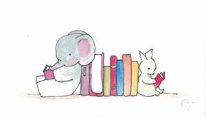 Bunny and Elephant Read