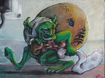 Sock Goblin by Inkyhollow