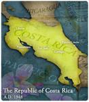 Civilization 5 Map: Costa Rica
