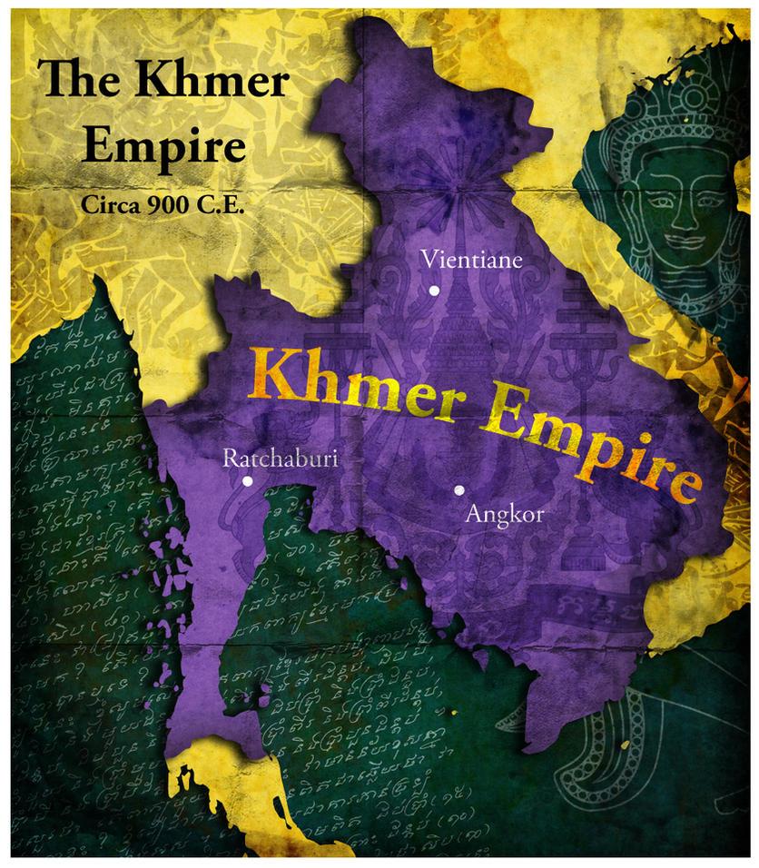The Khmer Empire 900 C.E.