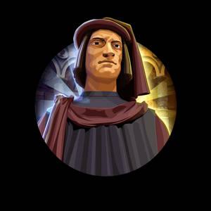 Civilization 5 Icons: Lorenzo de' Medici