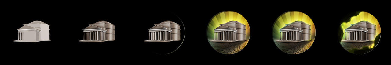 Civilization 5 Icons: Pantheon by sukritact