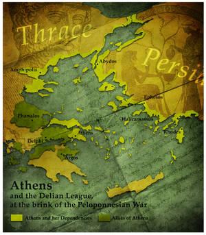 Civilization 5 Map: Athens