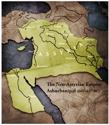 Civilization 5 Map: Assyria