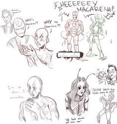 So I saw the new Avengers movie... by LiliandraW